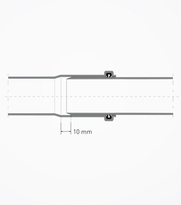 100 MM 3.2 PVC Atık Su Borusu / Gözde