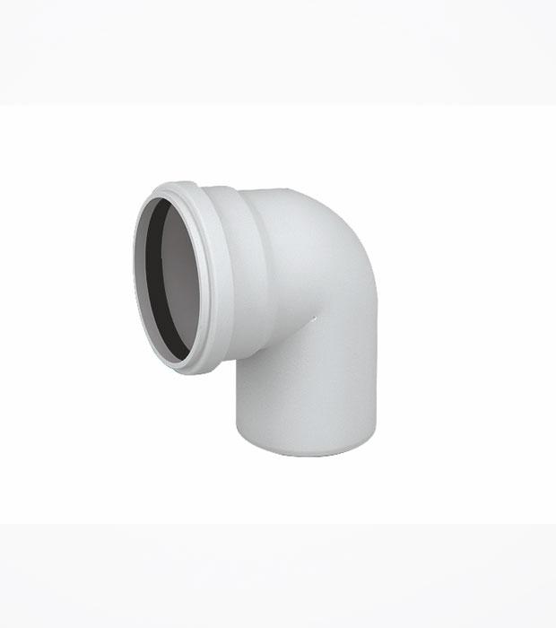 50x87° PVC Atık Su Dirsek / Gözde