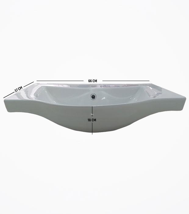 65 Cm Banyo Dolabı Seti