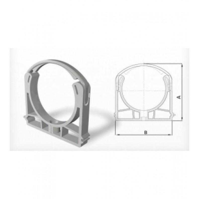 75 mm PVC Kelepçe