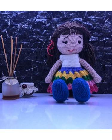 Amigurumi Bebek Elbise Yapımı, Amigurumi örgü bebek | 470x375