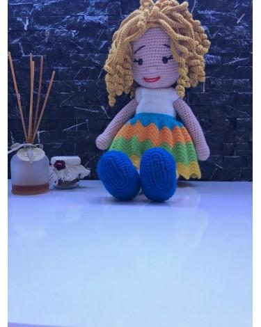 Amigurumi Balerin Bebek Yapılışı- Amigurumi Ballerina Doll Free ... | 470x375